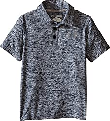 Under Armour Boys' Playoff Polo, True Gray Heather (025), Youth Small