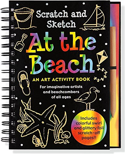 Scratch & Sketch At The Beach: An Art Activity Book For Beach Lovers Of All Ages (Trace-Along Scratch and Sketch) by Lee Nemmers (25-Jan-2011) Spiral-bound