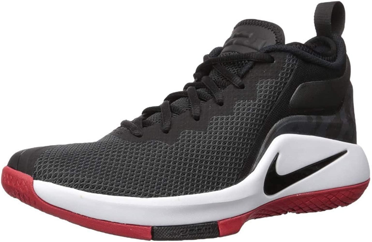 Nike Hombres Lebron Witness II Bajos & Medios Cordon Zapatos ...