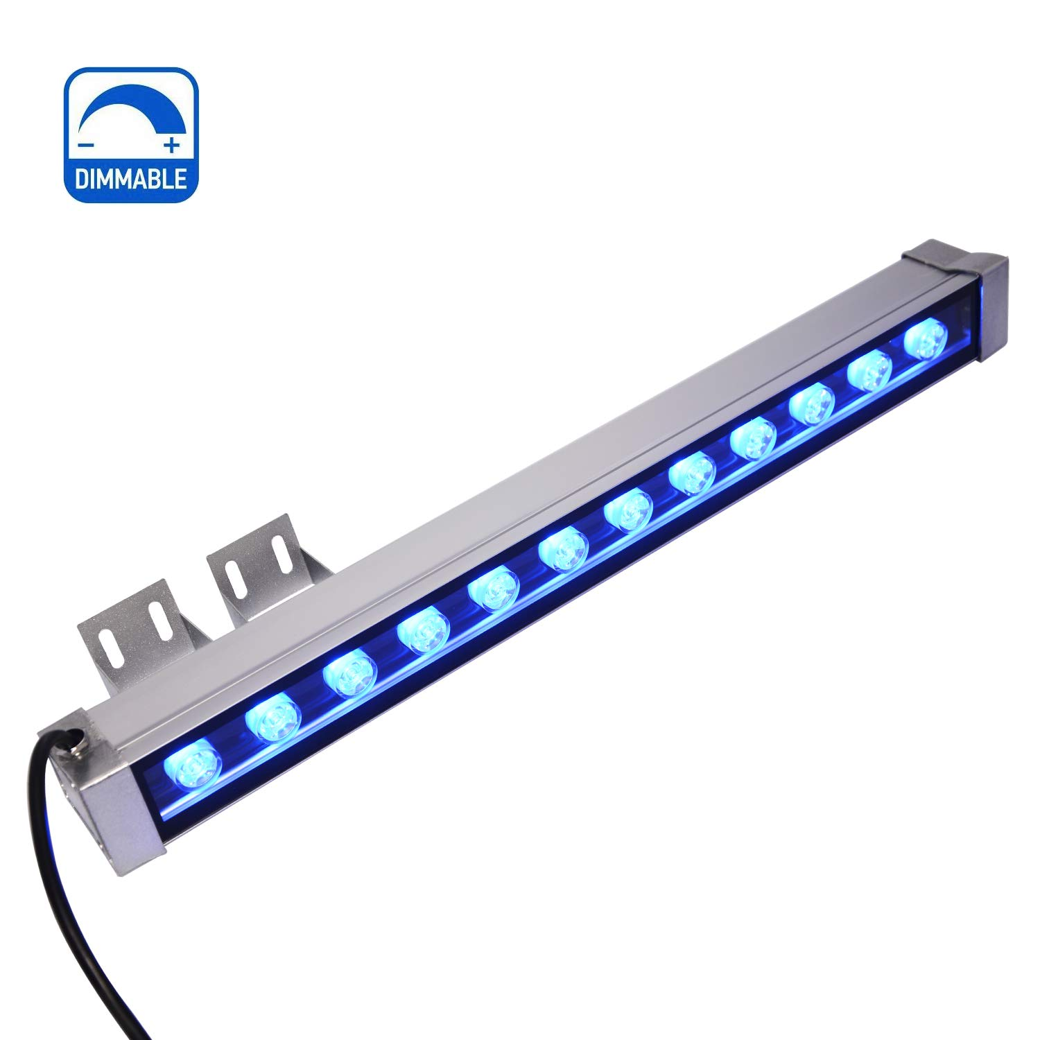 RSN LED Wall Washer Light 12W Dimmable Blue Color DC24V 2 Years Warranty Waterproof Lights for Outdoor Hotel Stadium
