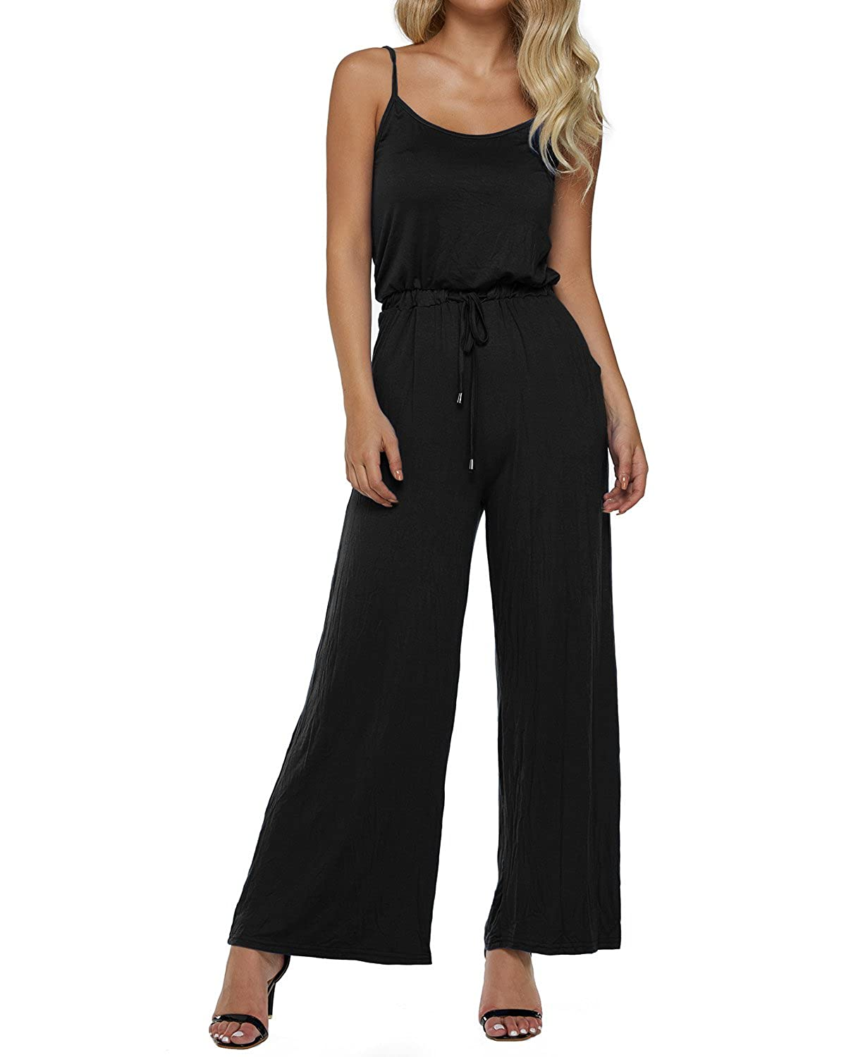 95d47d6f33ee Top 10 wholesale Black Sleeveless Jumpsuit - Chinabrands.com