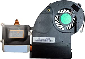 Power4Laptops Replacement Laptop Fan with Heatsink for Toshiba Qosmio X505-Q850, Toshiba Qosmio X505-Q860, Toshiba Qosmio X505-Q862, Toshiba Qosmio X505-Q865, Toshiba Qosmio X505-Q870