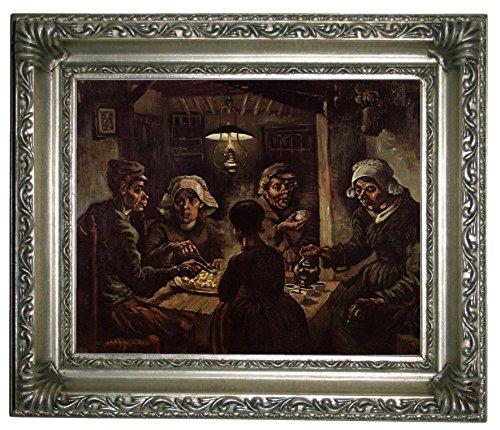 Vincent The Gogh Potato Van Eaters (Historic Art Gallery The Potato Eaters by Vincent Van Gogh 8