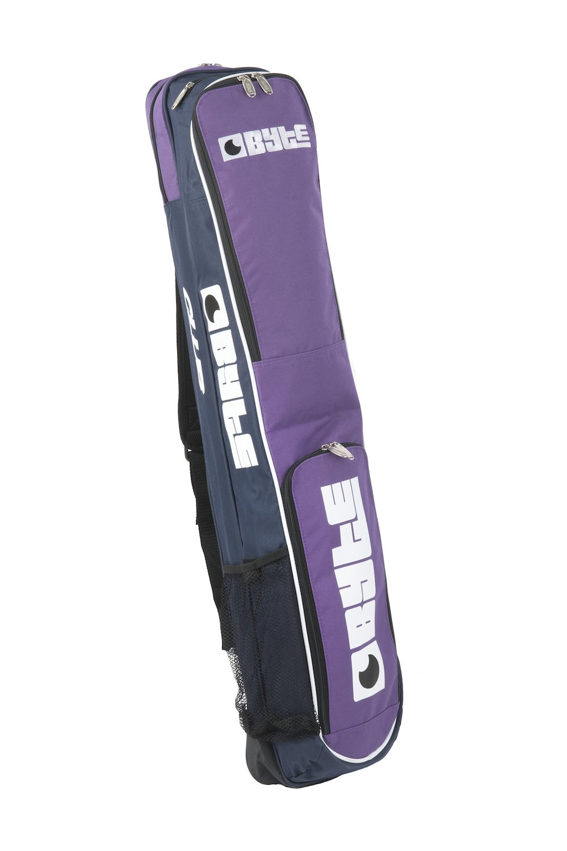 Byte Hockey Stick bolsa Club morado azul marino