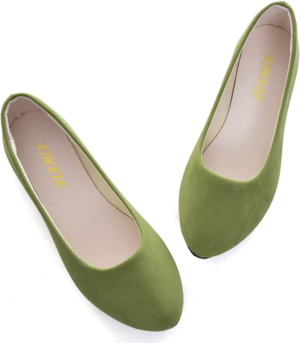 Womens Classic Ballet Flat Shoes