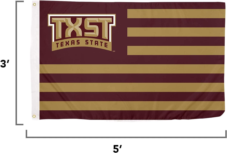 Desert Cactus University of Texas at San Antonio NCAA 100/% Polyester Indoor Outdoor 3 feet x 5 feet Flag