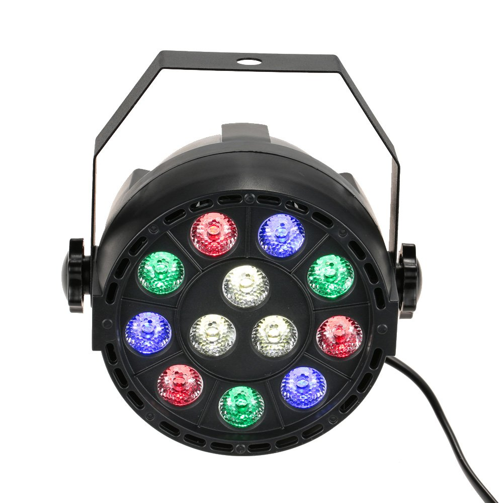 Lixada 15W DMX-512 RGBW LED DJ Lichteffekt Disco Beleuchtung mit ...
