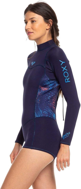 Roxy Womens 2//2mm Syncro Long Sleeve Back Zip FLT Springsuit