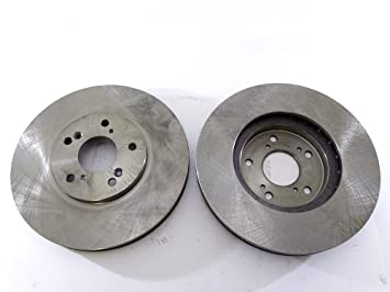 Rotores de discos de frenos 2x Disco de freno rotor parte delantera 31275como Tec AS TEC