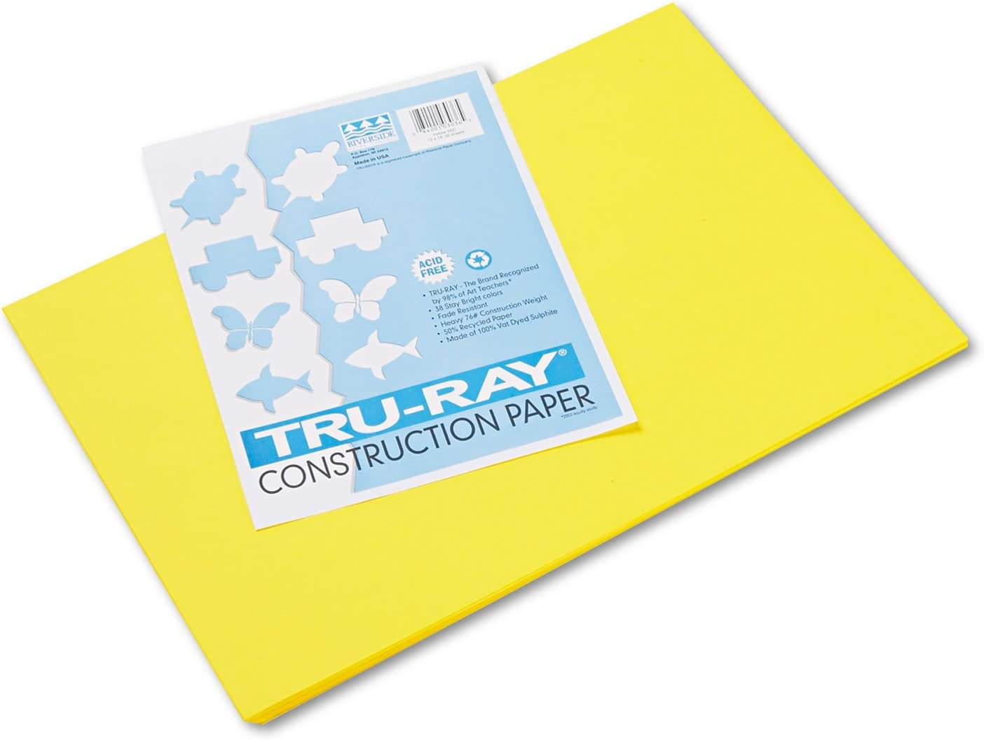 PAC103036 Tru-Ray Construction Paper