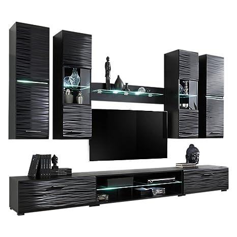 Amazon Com Meble Furniture Rugs Modern 4 Entertainment Center