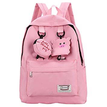 Amazon.com | Backpack Schoolbag for Girl Teens, Vithconl ...