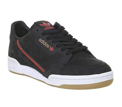 Adidas Originals X Tfl Continental 80 Hombre Zapatillas Negro: Amazon.es: Deportes y aire libre