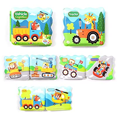 Instom Baby Bath EVA Book Tear Proof Infant Shower Toy Early Education Toys Bath Toys: Clothing