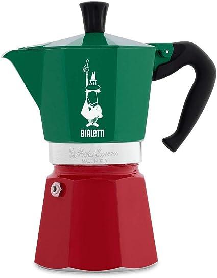 Bialetti Moka Express Mint Moka pot 130 L Green Aluminum 3 cups Polypropyle 7283