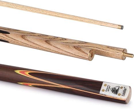 POWERGLIDE Excalibur English - Taco de Billar de 3 Piezas (Punta de 8,5 mm): Amazon.es: Deportes y aire libre