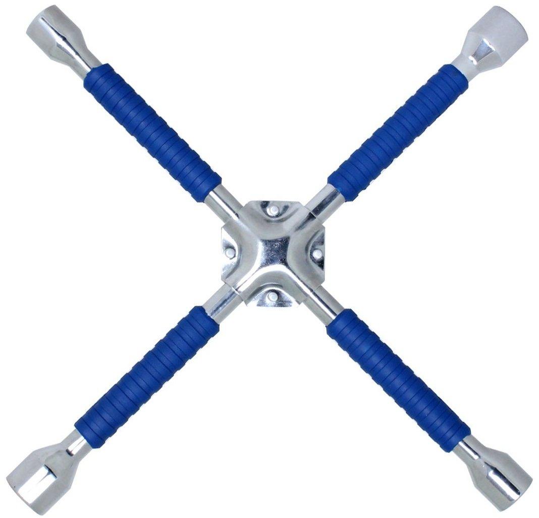 Cartman 16'' Universal Anti-Slip Cross Wrench, Lug Wrench