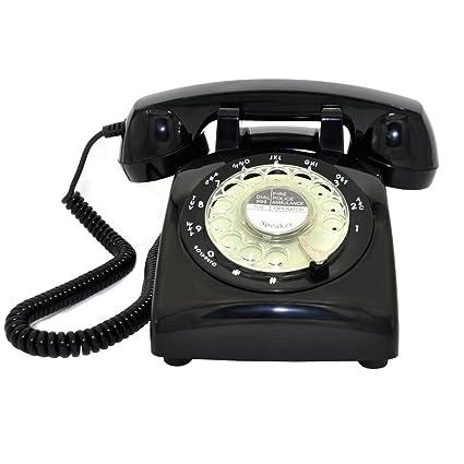 amazon com retro rotary telephone glodeals 1960 s retro design