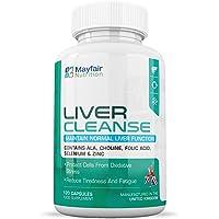 Clear Liver Cleanse | Integratore Disintossicante Premium con Colina, Selenio e Kale | Il Selenio Sostiene la Funzione della Tiroide | 120 Capsule, fornitura di 2 Mesi