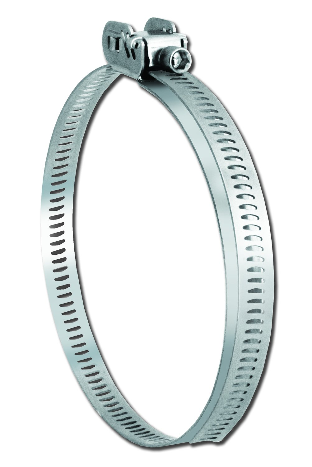 """Pro Tie 33712 Quick Release All Stainless Steel Hose Clamp, Range 1-3/4'' to 16'' (1.75"""" to 16"""") Diameter, 1 Pack"""