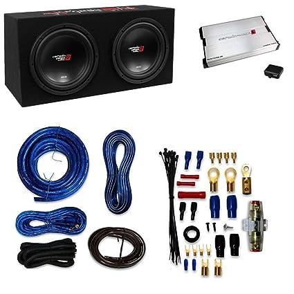 Amazon com: Cerwin Vega XED 3000W Max Basskit Dual 12