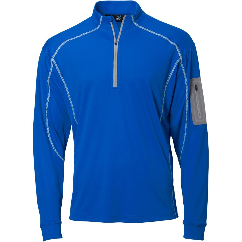 TGW Mens Tour 1/4 Zip Pullover Royal S