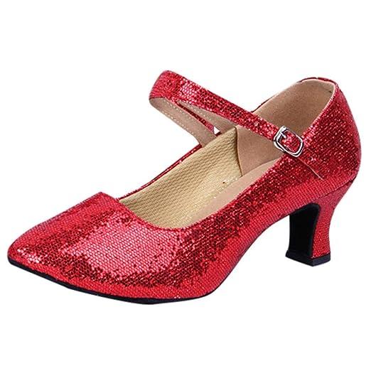 0067a00f630 Amazon.com: Women's Wedges Retro Flat Low-Heeled Round Head Shallow ...