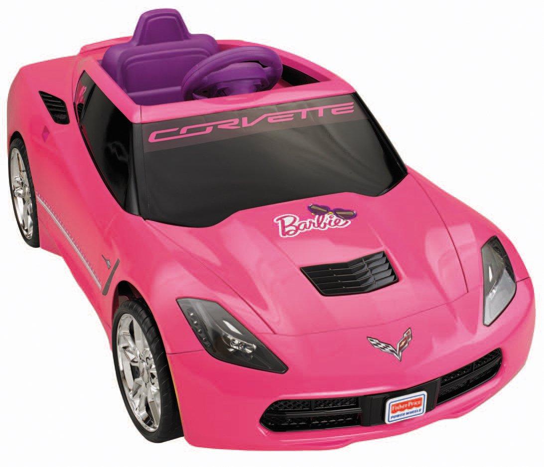 fisher price power wheels barbie corvette amazonca toys games