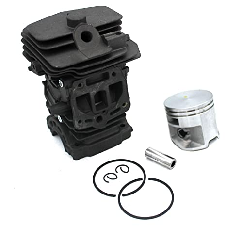P SeekPro Cylinder Piston Assembly 44mm for Stihl MS251 Chainsaw Engine  Rebuild Kits Replacement Parts#11430201207