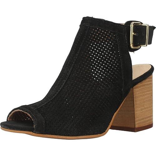 Sandalias y chanclas para mujer, color Negro , marca ALPE ...