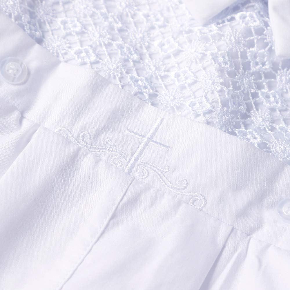 Booulfi Baby Boys 5 Pcs Set Christening Baptism Outfits