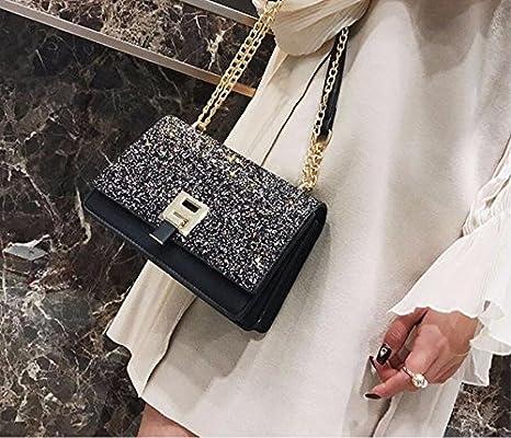 c6788ab2d85ec Meaeo Einzelne Umhängetasche Ranzen Tasche Die Tasche Neuen Kleinen  Quadratischen Tasche Mode - Kette Tasche.  Amazon.de  Koffer