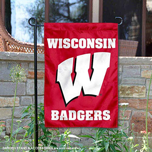 College Flags and Banners Co. Wisconsin Badgers Garden Flag