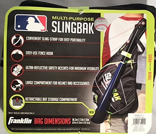 Franklin Multi-Purpose Slingbak Baseball Bag 18.5in X 13in X 8in by Franklin