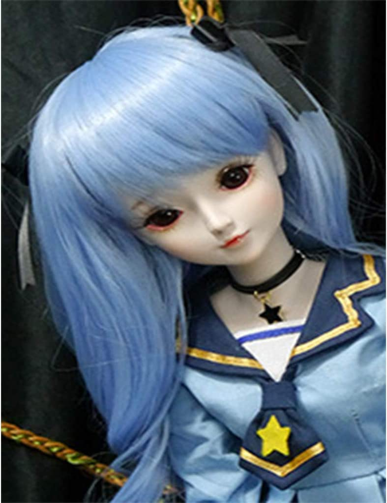 Tongina Long Curly Hair Wig for Doll 60cm Night Lolita