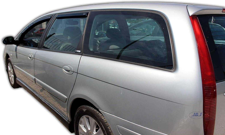 J J Automotive Windabweiser Regenabweiser Für C5 4 5 Türer 2000 2008 2tlg Heko Dunkel Auto