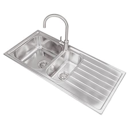 Kitchen Sinks Ottawa Valle ottawa 1080x500mm right hand 15 bowl kitchen sink stainless valle ottawa 1080x500mm right hand 15 bowl kitchen sink stainless steel workwithnaturefo