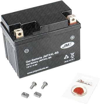 Gel Batterie Für Honda Wave 110 I 2012 2014 Jc51 Wartungsfrei Inkl Pfand 7 50 Auto