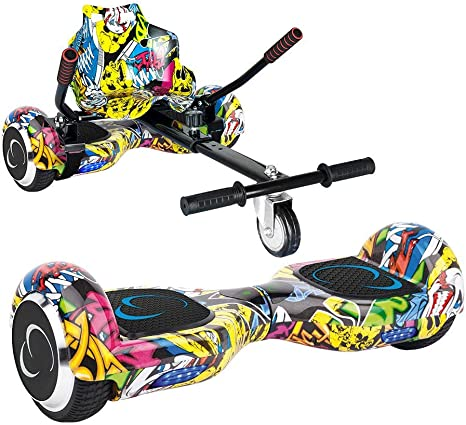 SMARTGYRO X2 + GO Pack Patinete Eléctrico + Kart, Certificado UL, Batería de Litio, Cómodo y Ergonómico, Unisex Niños, Multicolor (Street), 6.5 Pulgadas: Amazon.es: Deportes y aire libre