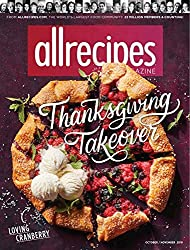 Plan dinner tonight and every night with the help of Allrecipes magazine! This food and cooking magazine offers recipes for every occasion imaginable and gives you easy-to-follow instructions to craft delicious meals for you and your family.