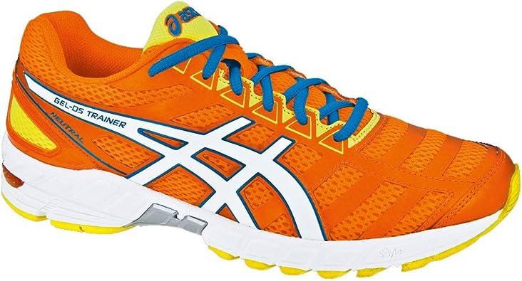 ASICS Gel-DS Trainer 18 Neutral Zapatilla de Running Caballero, Naranja/Blanco, 42: Amazon.es: Zapatos y complementos