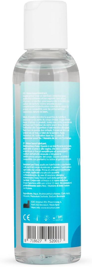 61FsKoGW1CL._AC_SL1200_ EasyGlide Gel Lubricante Sexual a Base de Agua (150 ml) Lubricante para hacer que su placer sea más cómodo:  Salud y cuidado personal