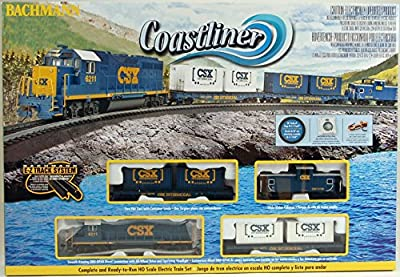 Bachmann Trains Coastliner Ready to Run Electric Train Set from Bachmann Industries Inc