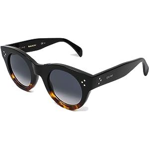 bb6a43cbd3 Celine Cl41440 F S 100% Authentic Women s Sunglasses Black Tortoise Havana  Fu5w2
