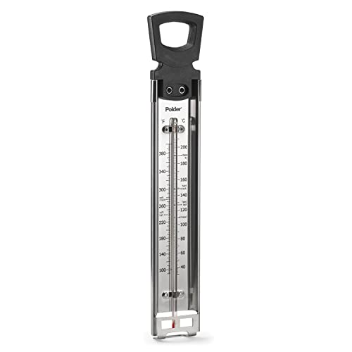 Polder THM-515 Candy/Jelly/Deep Fry Thermometer Stainless Steel