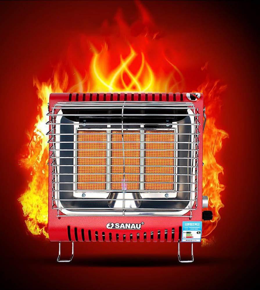 Heating Calentador de Gas Montado en la Pared, Estufa de Asar de la Casa, Gas Natural Licuado, Mini-Estufa Portátil de Calentamiento Rápido: Amazon.es: ...