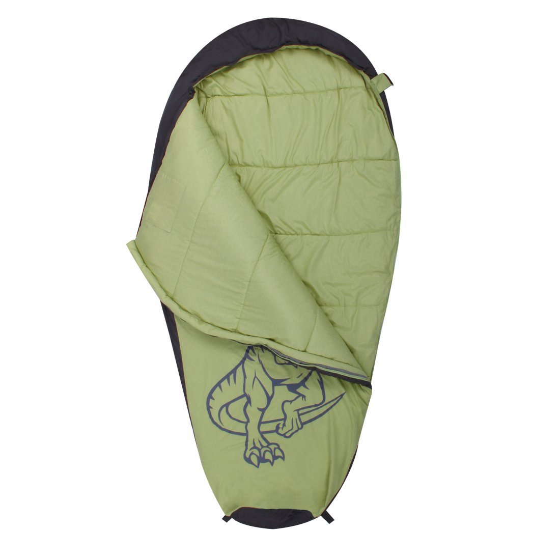 10T Outdoor Equipment 10T T Saco de Dormir de la Momia de los niños, Verde, Estándar: Amazon.es: Deportes y aire libre