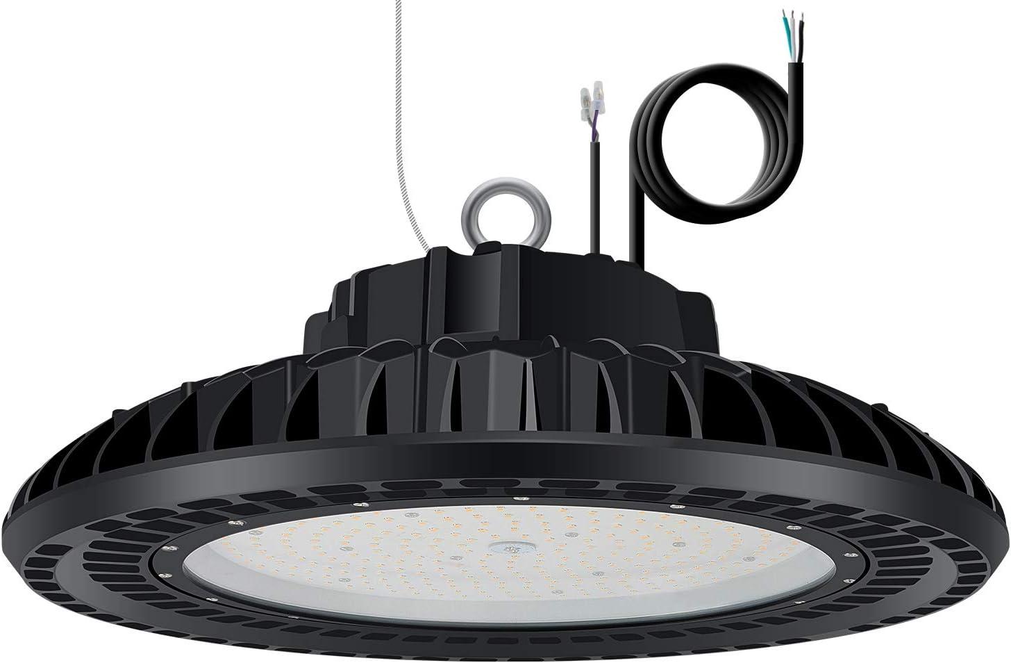 3X 300W UFO LED Hallenleuchte Industrielampe Hallenstrahler Hängend High Bay DE