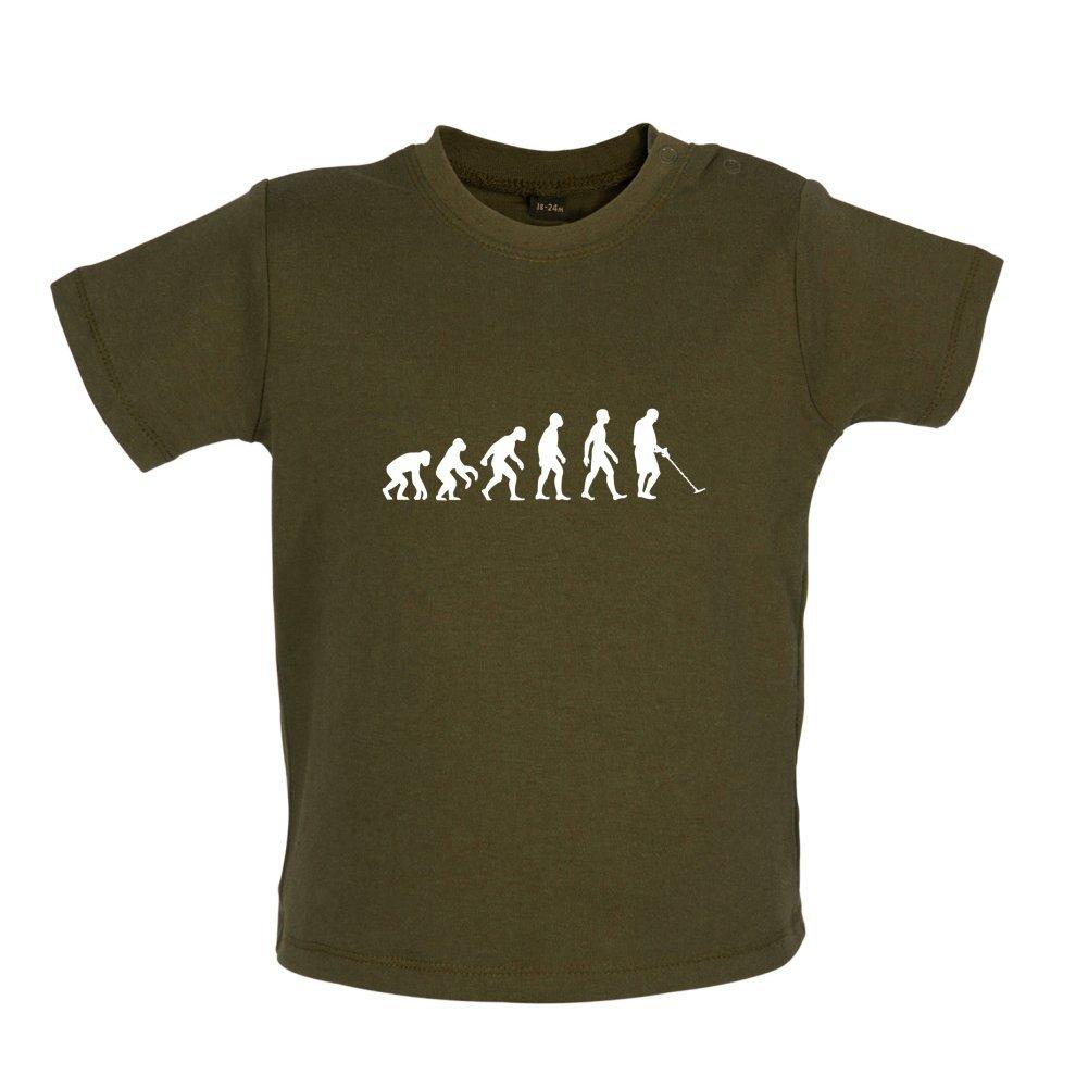 Evolution of Man - Metalldetektor - Witziges Baby T-Shirt - 8 Farben - 3  bis 24 Monate: Amazon.de: Bekleidung