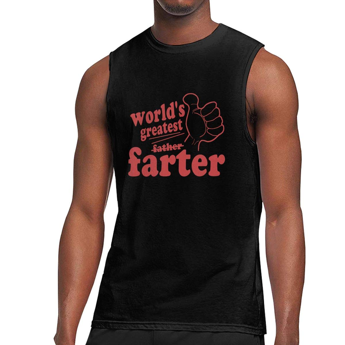 Worlds Greatest Farter Fathers Day S Sleeveless Shirts